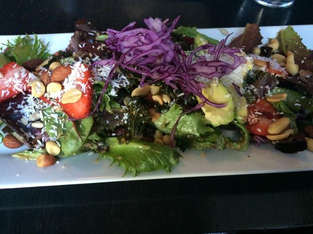 Superfood salad from Nourish Bistro in Banff