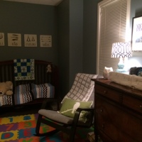 Bump Day: 7 weeks to go and nursery pictures!