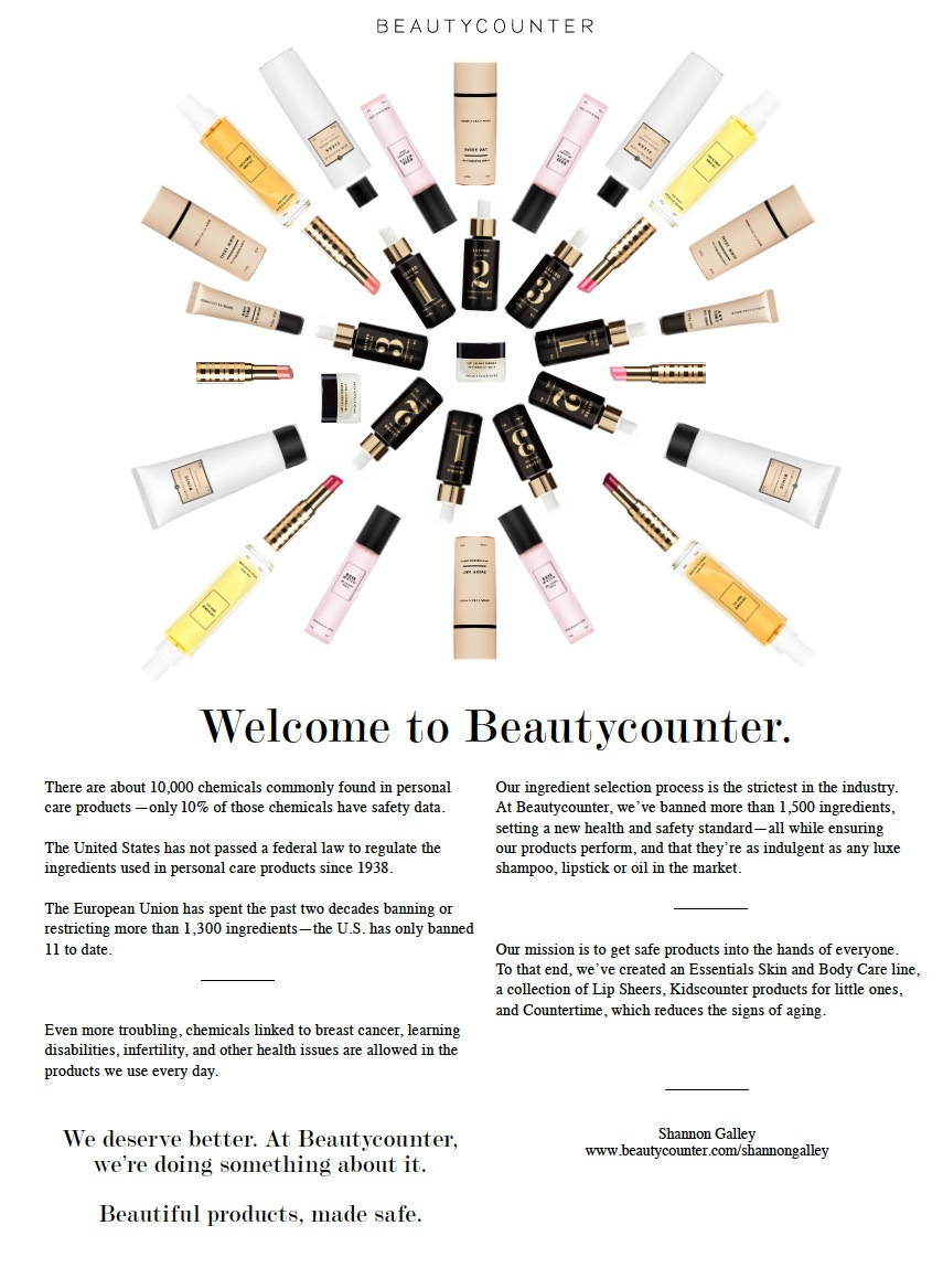 Why I chose Beautycounter
