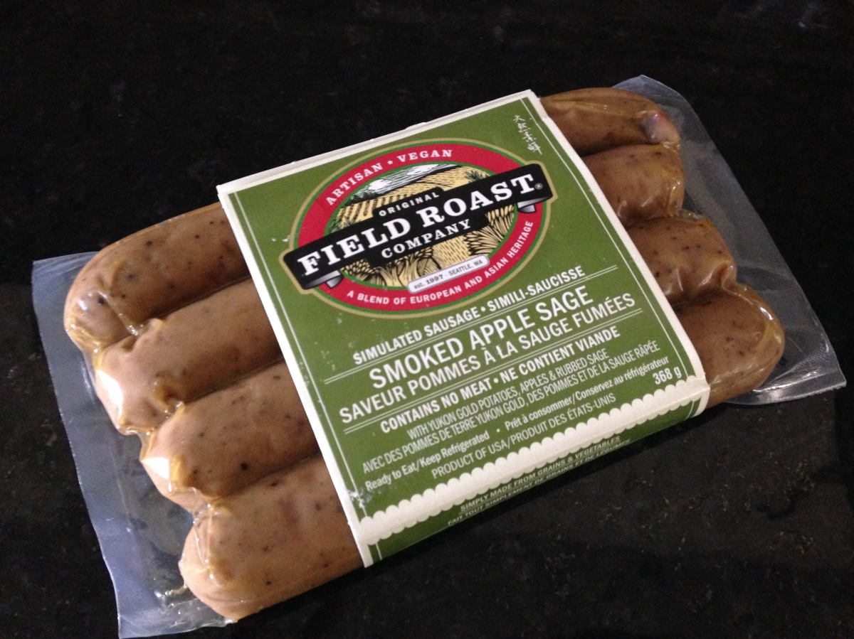 "|| Field Roast Smoked Apple Sage Vegan ""Sausage"" Review 