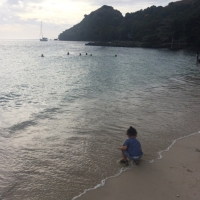 || Our experience traveling to the Caribbean with two small children + stroller review ||